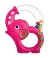 Игрушка-погремушка, Курносики арт. 21373 радужный слоник