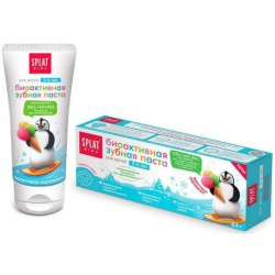Зубная паста детская, Сплат Кидс биоактивная Фруктовое мороженое 2-6 лет 50 мл 63 г
