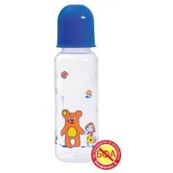 Бутылочка для кормления, Мир детства полипропиленовая с силиконовой соской 240 мл арт. 11121