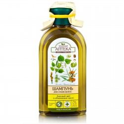 Шампунь, Зеленая аптека липовый цвет облепиховое масло для сухих волос 350 мл