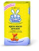 Крем-мыло детское, Ушастый нянь с оливковым маслом и ромашкой 90 г