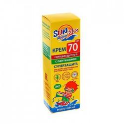 Крем солнцезащитный детский для лица и тела, Биокон Сан Марина для особо чувствительных участков SPF 70 50 мл