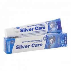 Зубная паста для детей от 3 до 6 лет, Сильвер Кэа Экологичная защита с серебром для мальчиков 50 мл